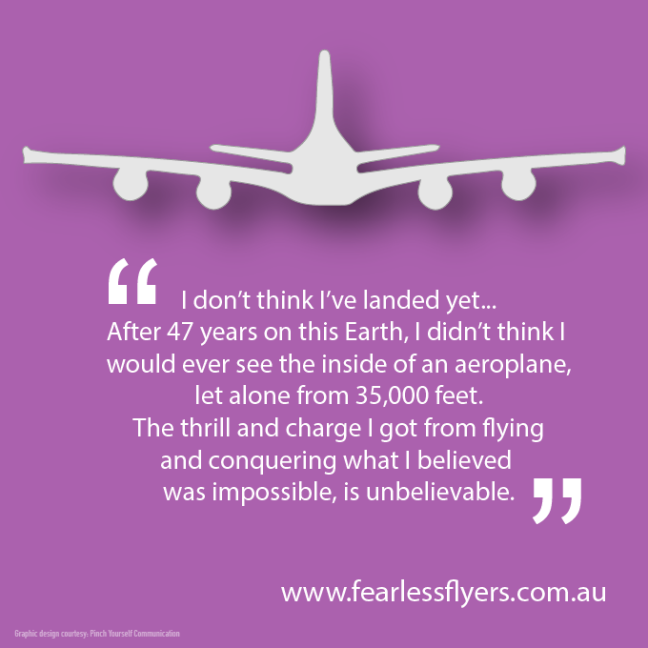 Conquering your fear of flying is possible: graduate